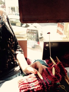 Knitting at The Wool and Tart