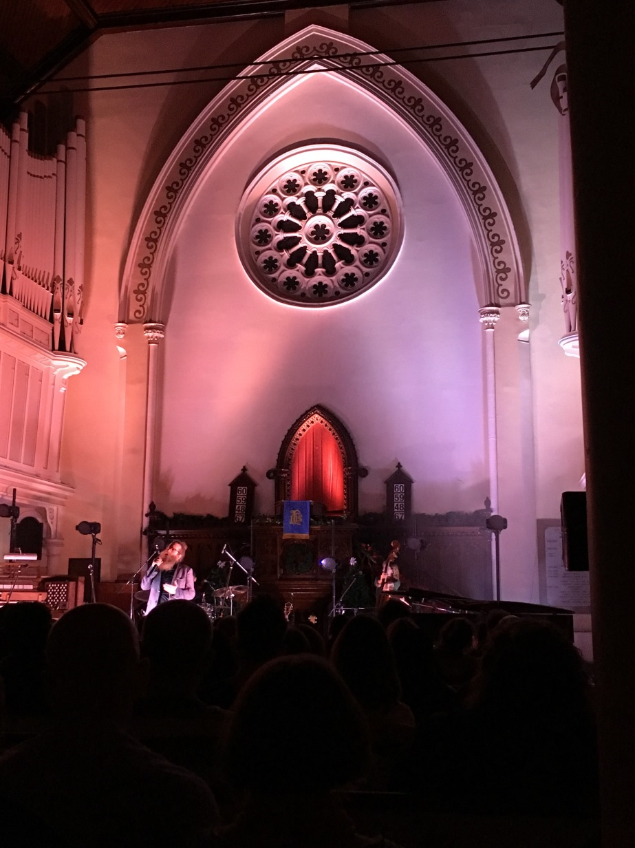 Ben Caplan at Saint Micheals church