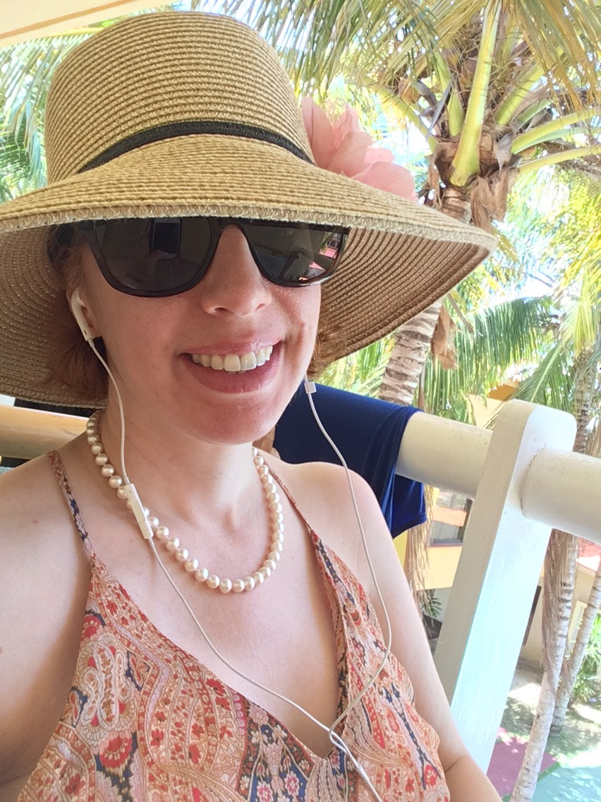 Vacation Knitting update